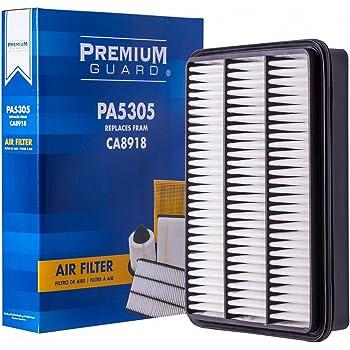 PG Air Filter PA5305 | Fits 2003-09 Lexus GX470, 1998-07 LX470, 2003-10 Toyota 4Runner, 1998-07 Land Cruiser, 2001-07 Sequoia, 2000-06 Tundra