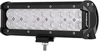 Auxbeam LED Light Bar 9inch 54W Led Light Pod Off-Road Lights Flood Beam Driving Lights for Trucks Car Pickup ATV Jeep Motorcycle Boat Golf Cart with Mounting Brackets
