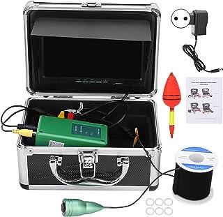 7in 1000TVL Cámara de pesca submarina portátil a prueba de agua Cámara HD IP68 Buscador de peces Sistema de monitor de lev...