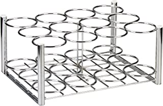 Drive Medical Deluxe Oxygen Cylinder Rack, Chrome, 12 D/E