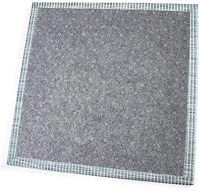 縁なし置きユニット畳高強度生地畳表-無臭防虫防ダニ防カビ滑り止め裏-厚さ1.7cm 55x55cm 4枚セット ブルー