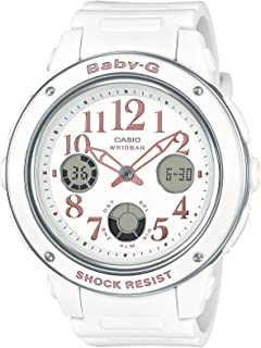 Casio Baby-G for Women - Analog-Digital Resin Band Watch - BGA-150EF-7BDR