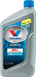 Valvoline VR1 Racing SAE 30 Conventional Motor Oil 1 QT, Case of 6