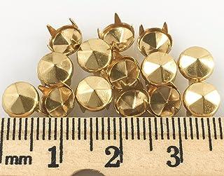 100pcs 8.5mm cone PURSE FEET Studs Nailheads Spike DIY