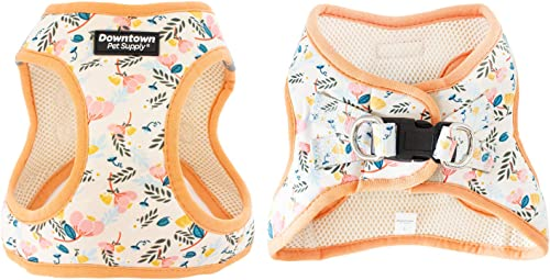 Downtown Pet Supply No Pull, Step in Adjustable Dog Harness with Padded Vest, Easy to Put on Small, Medium and Large ...