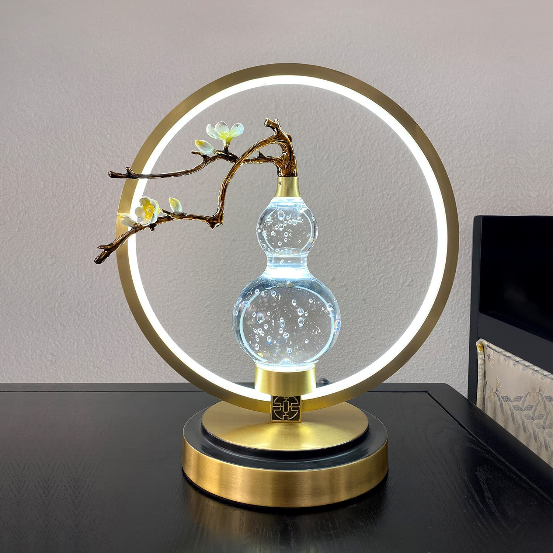 Modern Max 90% OFF Fine Copper Table Lamp for Ni supreme Bedside Bedroom Room Living