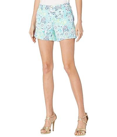Lilly Pulitzer Callahan Knit Shorts (Blue Ibiza Open Water) Women