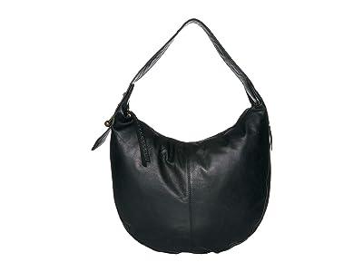Lucky Brand Kune Hobo (Black) Handbags