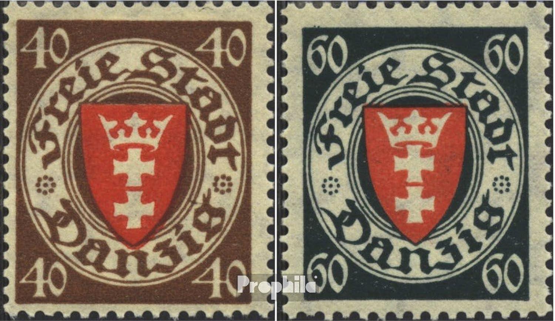 mas preferencial Prophila Collection Gdansk 243-244 (Completa.edición.) 1935 1935 1935 Escudo de Armas (Sellos para los coleccionistas)  nuevo estilo