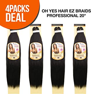 MULTI PACK DEALS! Oh Yes Hair Synthetic Hair Braids Ez Braids Professional 20