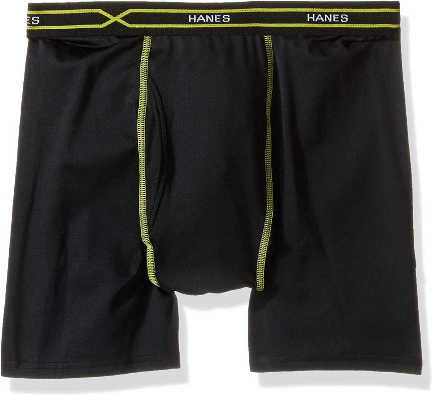 Hanes Men's FreshIQ X-Temp All Mesh Boxer with ComfortFlex Waistband Brief
