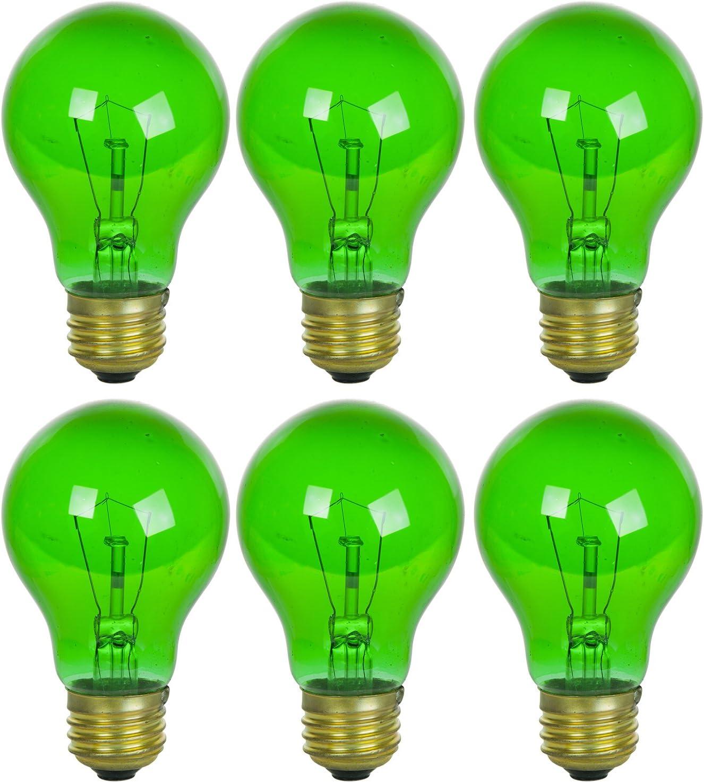 Sunlite 25A TB G Attention brand Max 69% OFF 6PK Incandescent Light Medium A19 E 25W Bulbs