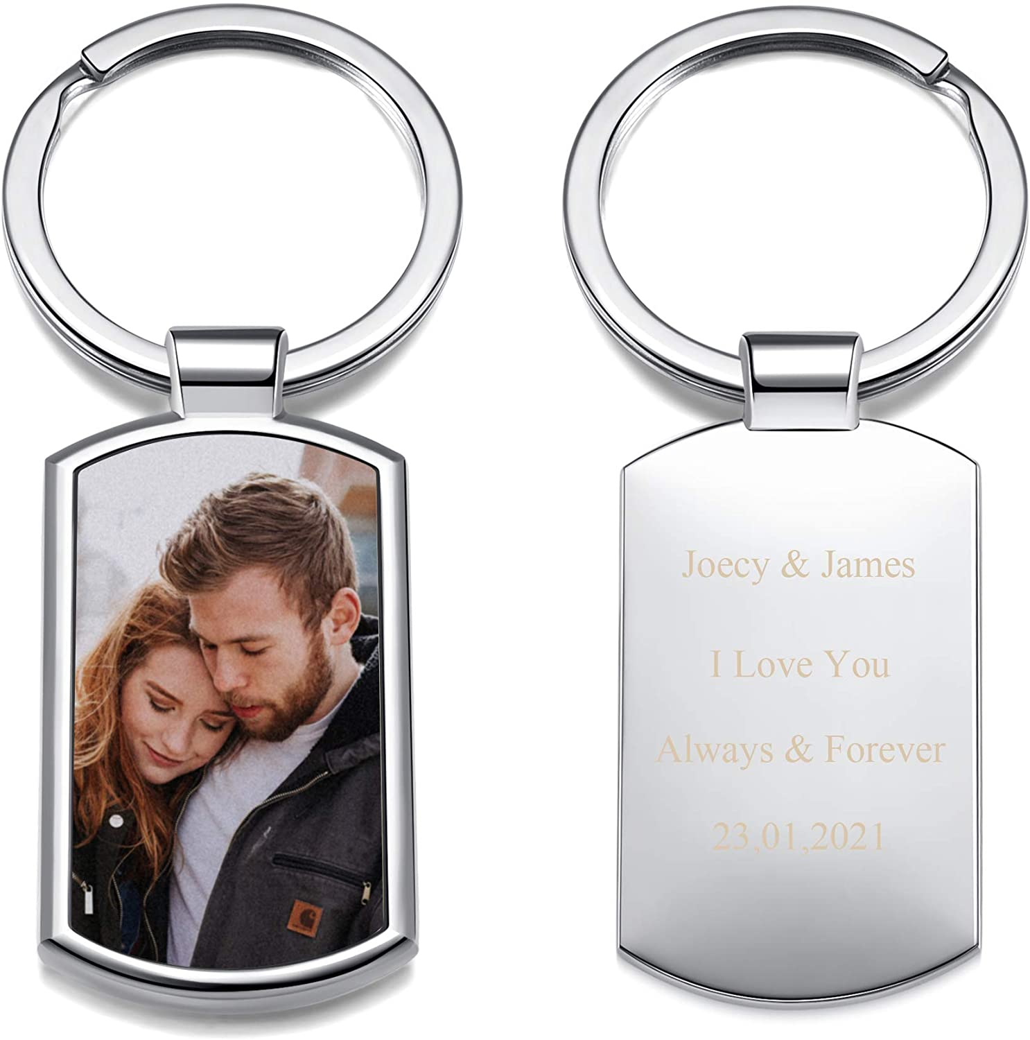 Personalized Master Custom Picture Keychain New Orleans Mall P Color Tampa Mall