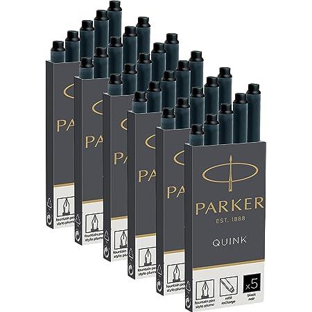 Parker Quink 1950382 Refill Cartridge 30er Box Black