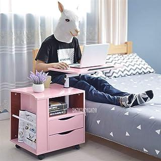 Rowe Ordinateur Portable Mobile Table de Chevet avec 2 tiroirs Chevet relevable Bureau Portable for Ordinateur Portable Ca...