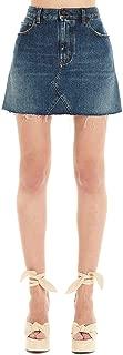 SAINT LAURENT Luxury Fashion Womens 602944Y807O4270 Blue Skirt |