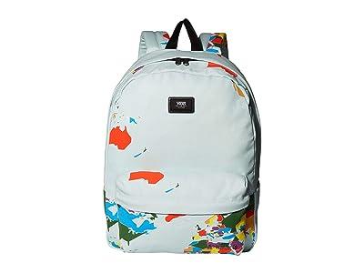 Vans Old Skool III Backpack (Blue Save Our Planet) Backpack Bags