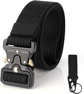 comprar comparacion S.Lux Hombres Cinturón de Lona, YKK Hebilla de Plástico Cinturón de Secado Rápido Transpirable Hipoalergénico Cinturón Rec...