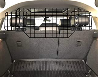 C CASIMR Heavy-Duty Dog Barrier, Adjustable to Fit Cars, SUVs, and Vehicles, Smooth Designed Pet Wire Barriers, Black