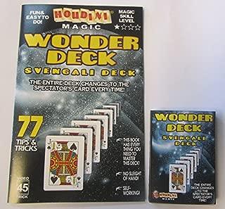 Rock Ridge Magic Houdini Magic Wonder Deck - 77 Tips and Tricks with a Svengali Deck - Booklet Only