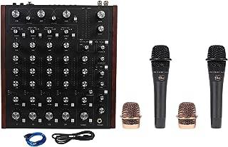 Rane MP2015 Rotary Club DJ 4-Deck Mixer wDual USB+2) Blue Encore 200 Microphones