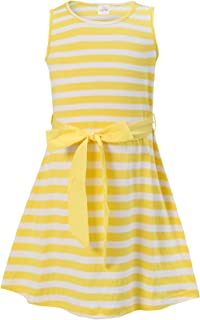 Girl's Cacual Summer Tank Dresses for Kids