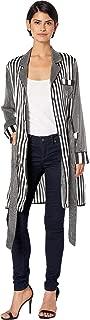 Women's Striped Robe