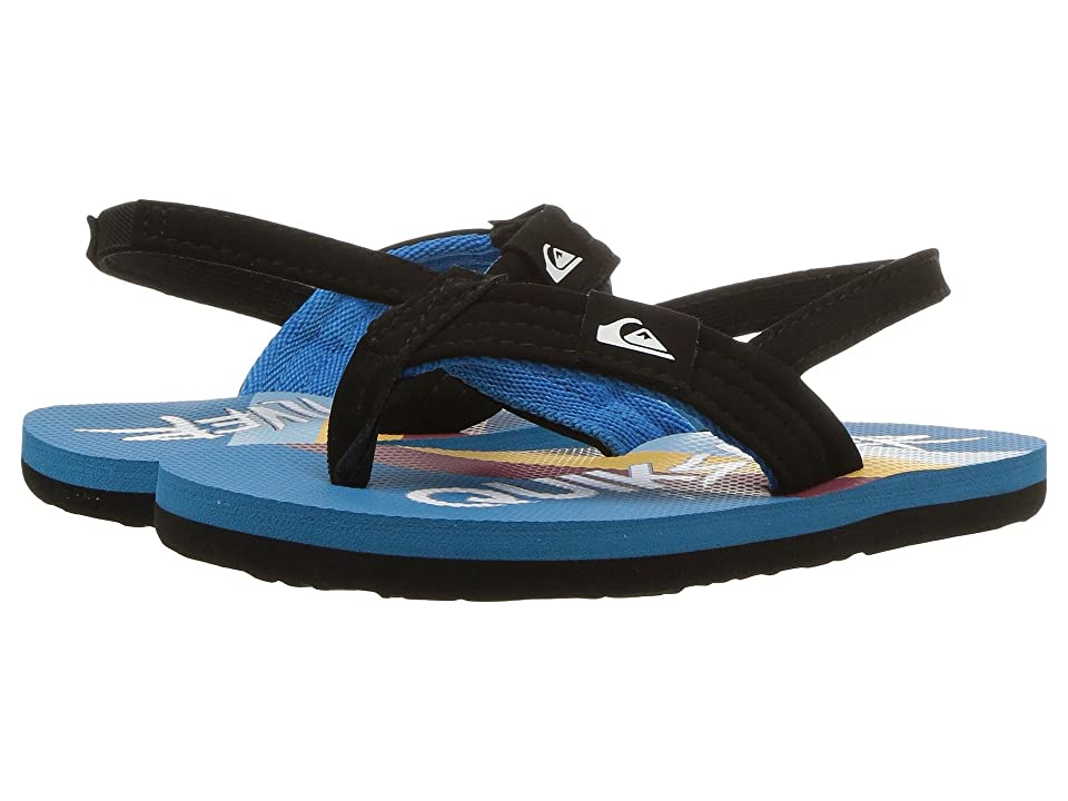 Quiksilver Kids Molokai Layback (Toddler) (Black/Blue/Red) Boys Shoes