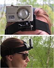 3 in 1 Mobile Phone, Camera, Action Cam Head Mount Harness Strap Holder Band, Used for Action Sports, Capture Best Moments (Samsung, iPhone, GoPro, Yi, Sjcam, All Digital Cameras Etc)