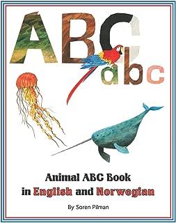 Animal ABC Book in English and Norwegian