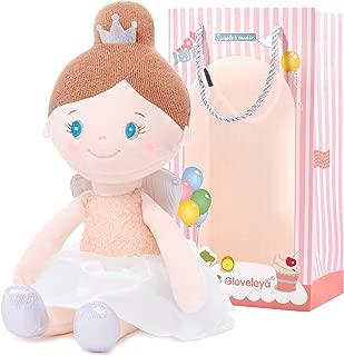 Gloveleya Baby Girl Gifts Soft First Baby Doll Plush Angel Dolls Dream Girls Pink 15 Inches
