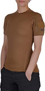 281Z Womens Professional Active T-Shirt - Athletic Workout Gym - Polartec Delta - Superior Wicking - Odor Control