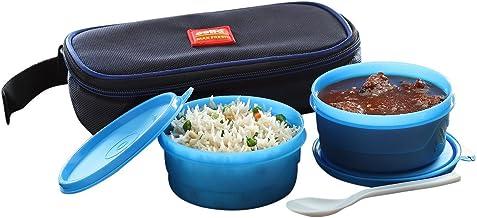 مجموعة صندوق الغداء سوبر من البولي بروبيلين من شركة تشيلو CMF_SL_2BLUE ، 300 مل/24 سم، مجموعة من قطعتين، أزرق