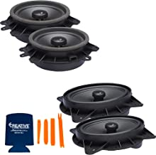 $219 » Sponsored Ad - PowerBass OE Series Direct Replacement Coaxial Speakers Compatible with Toyota Sienna 04-20