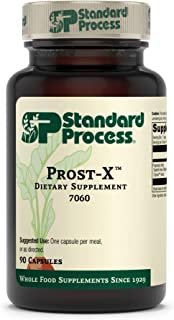 Standard Process Prost-X - Whole Food Prostate, Bone Health Supplement and Bone Support with Spanish Moss - 90 Capsules