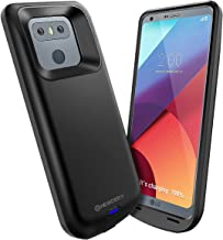 Newdery LG G6 Battery Case 5000mAh, LG G6 G6 Plus G6 Duo Portable Extended Charger Case, Rechargeable Power Bank Charging Cover with USB - C Input Output Port and Full Protection Compatible G6