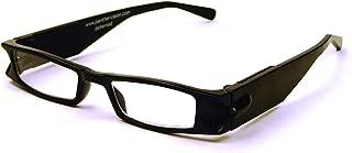 Foster Grant FGX1010028150 Light Specs Lighted Reading Glasses, Black +1.50 Size