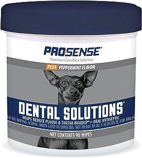 Pro-Sense P-87073 Plus Peppermint Flavor Dental Solutions Wipes, 90 Count