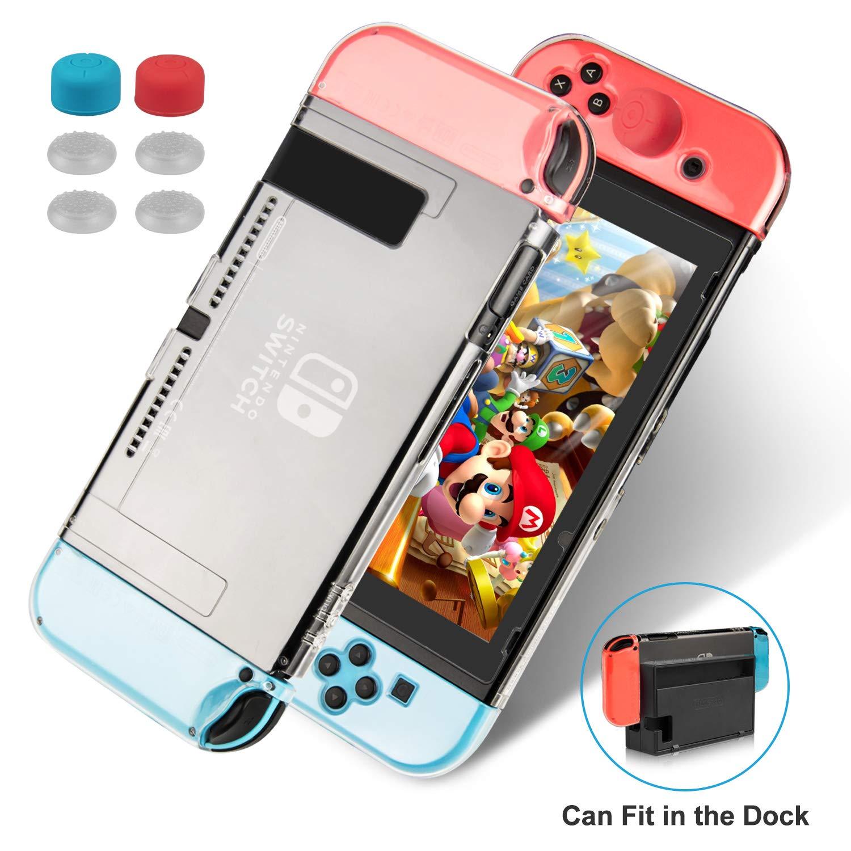 Keten kit de accesorios 13 en 1 para Nintendo Switch, incluye una ...
