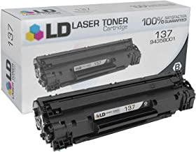 LD Compatible Toner Cartridge Replacement for Canon 137 9435B001 (Black)