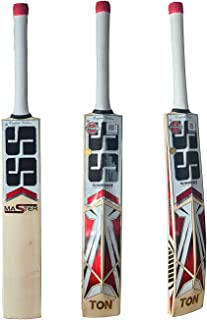 SS Kashmir Willow Junior Cricket Bat- Master (Cover Included)