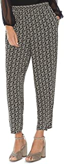 Vince Camuto Women's Petite Paisley Imprint Pull-On Pants