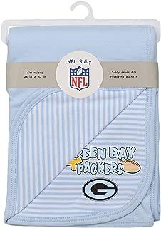 NFL Newborn Blanket, Green Bay Packers, Blue, 1 Size