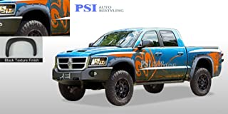 PSI Auto Restyling 802-0200T Pocket-N-Bolt Style Fender Flares; Front And Rear; Flare Width 4.25 in; Tire Coverage 3.5 in; Textured Black