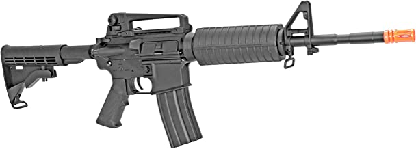 MetalTac CYMA Electric Airsoft Gun with Metal Gearbox Version 2, Full Auto AEG, Powerful Spring 370 Fps with .20g BBS