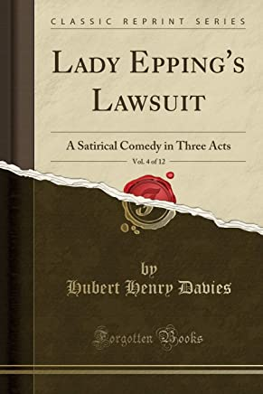 Davies, H: Lady Eppings Lawsuit, Vol. 4 of 12