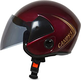 ACTIVE CANDY 5 Open Face Face Helmet for Kids from 3 to 6 Years (PURPLE, Size-Extra Small) (PURPLE)