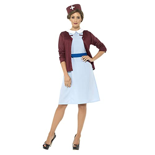 Smiffys Vintage Nurse Costume