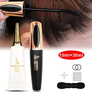 Hair Feel Finishing Stick, Small Broken Hair Finishing Cream Refreshing Not Greasy Shaping Gel Cream Hair Wax Stick Fixing Bangs Stereotypes Cream(15ml+30ml)