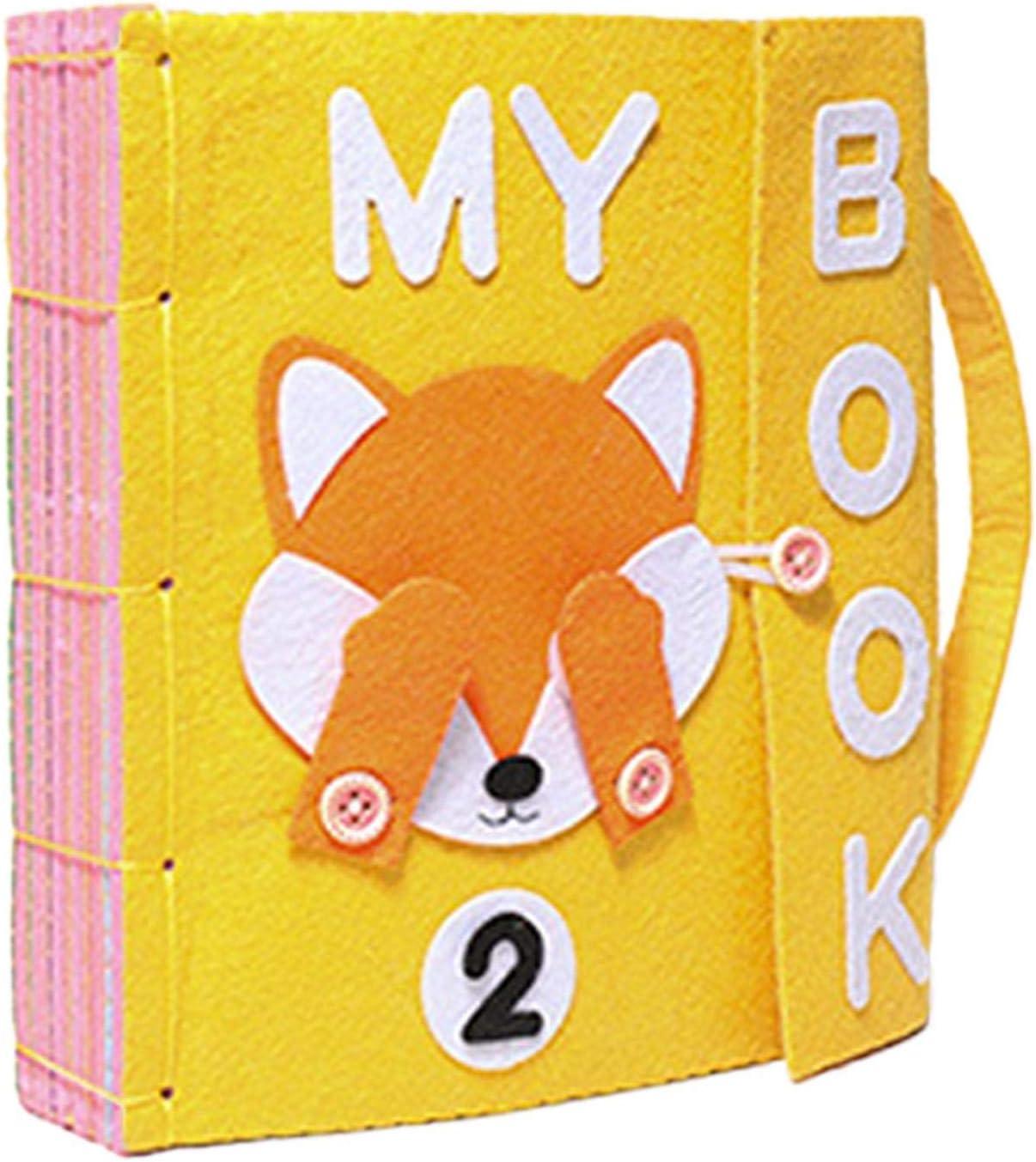 actividad regalo para baby shower juguetes educativos tempranos My Hut Book libros suaves arrugados para beb/és ni/ños y ni/ñas tela no t/óxica tela para beb/és